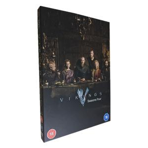 Vikings Season 4 DVD Box Set