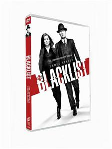 The Blacklist Seasons 4 DVD Box Set