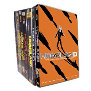 Homeland season 1-7 DVD Box Set