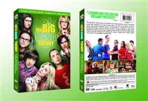 The Big Bang Theory Season 12 DVD Box Set